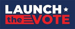 Launch the Vote Logo